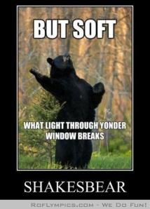 shakespeare bear