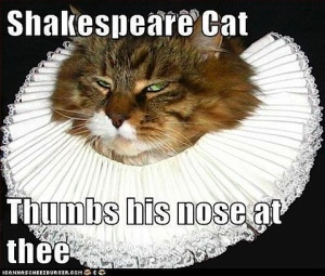 shakespeare cat