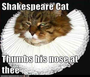 shakespeare cat