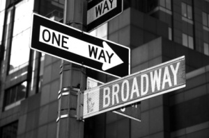 One way in New York