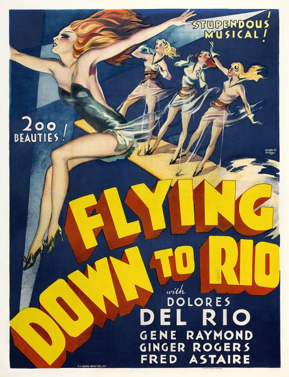 flying to rio